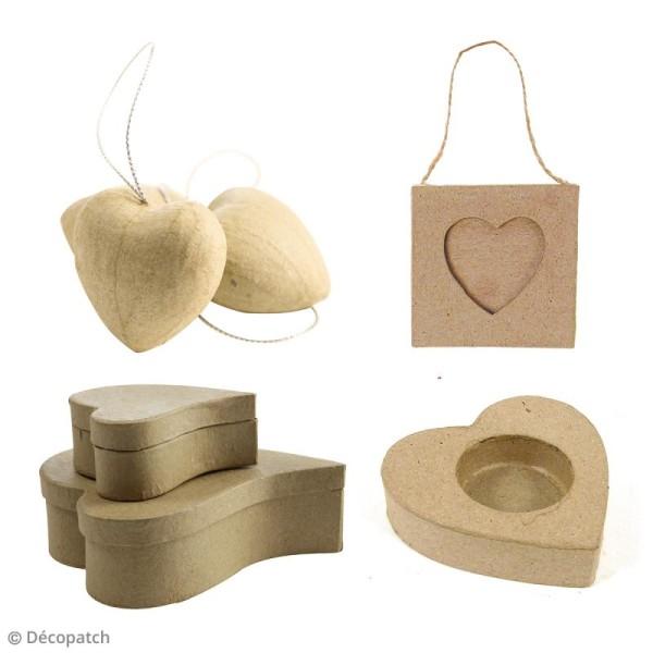 Kit Décopatch Love - Papiers et supports à personnaliser - Photo n°2