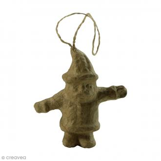 Père Noël à suspendre - 8 x 3,5 x 8,5 cm