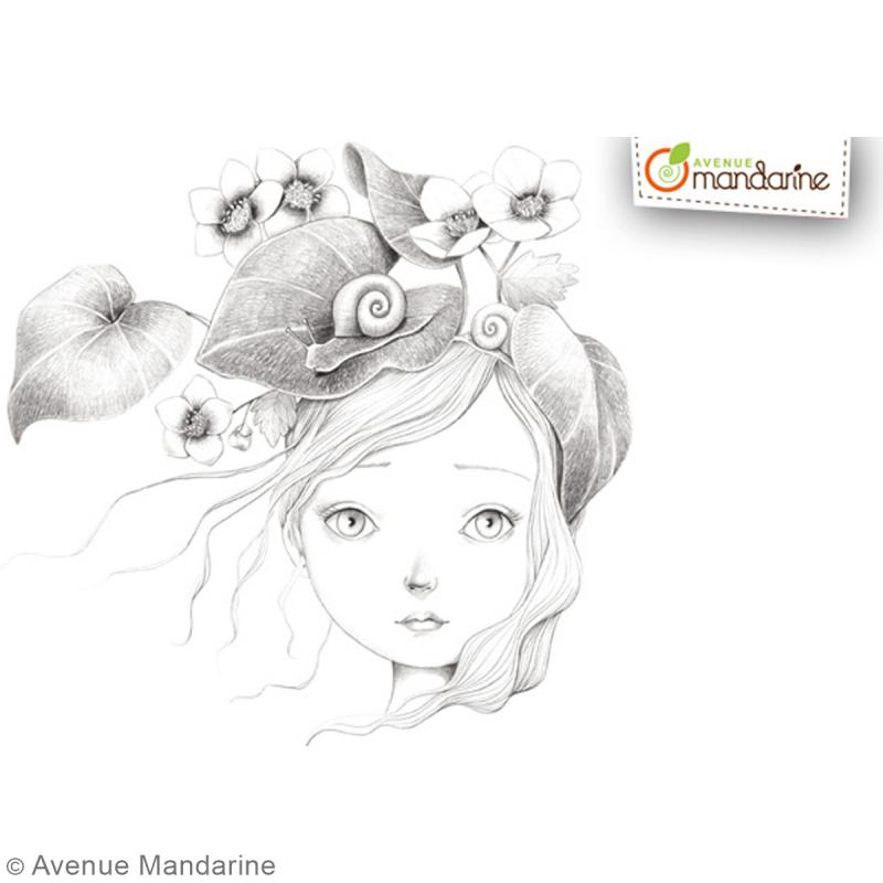 Carnet de coloriage collector 20 x 20 cm - Coloriage Wild - 28 visages à colorier - Photo n°3