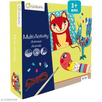 Coffret créatif multi-activités Animaux