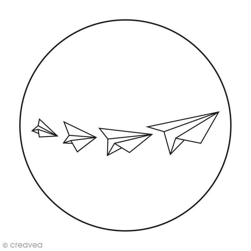Kit broderie Creavea - Origami - 1 cercle et 3 modèles au choix - Photo n°3