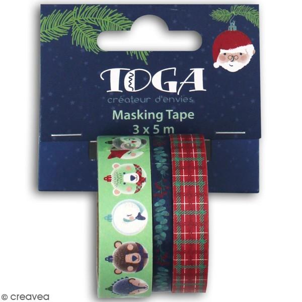 Masking Tape - Noël - 5 m - 1 pce - Photo n°1