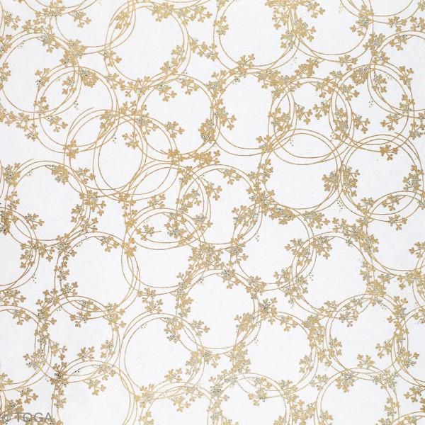 Papier l'Or de Bombay - Noël - 30,5 x 30,5 cm - 10 feuilles - Photo n°3