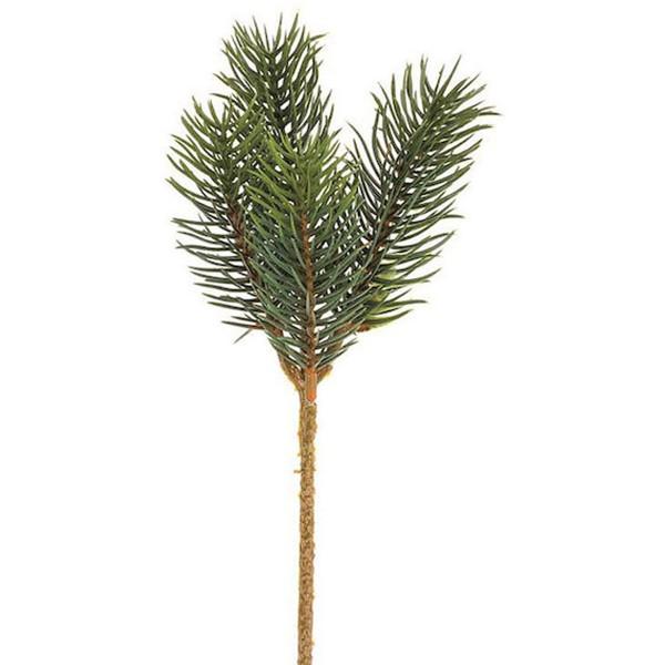 Branche sapin artificielle - 23 cm - 1 pcs - Photo n°1