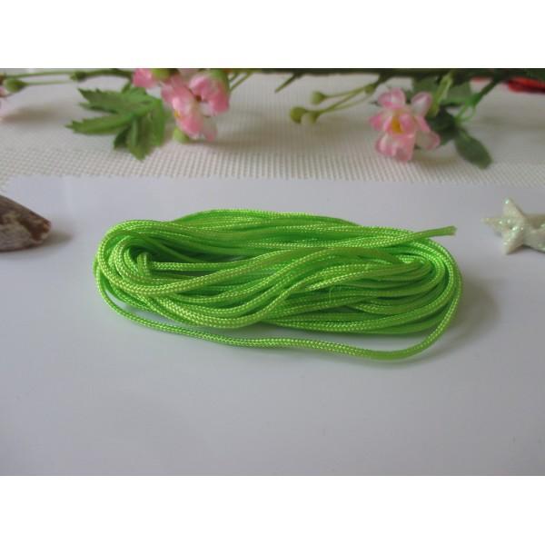Fil nylon 1.5 mm vert clair x 5 m - Photo n°1