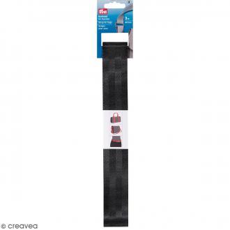 Sangles de sac - Noir - 40 mm - 3 m