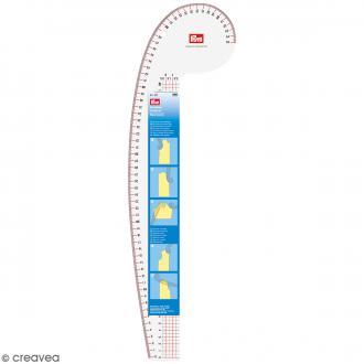 Règle perroquet couture - 65 cm
