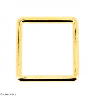 Intercalaire carré Doré en métal - 15 mm