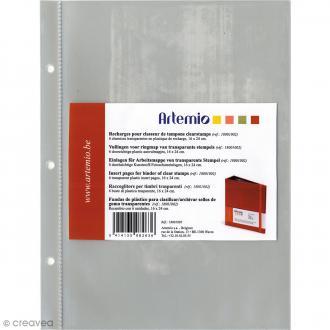 Pochettes pour classeur à tampons Artemio - 6 pcs