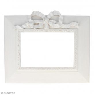 Cadre en résine Rectangle Noeud - 10 x 15 cm