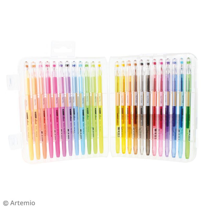 Stylos à gel Kaiser Colour - 24 stylos - Photo n°2