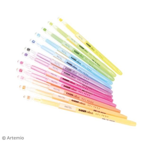 Stylos à gel Kaiser Colour - 24 stylos - Photo n°3