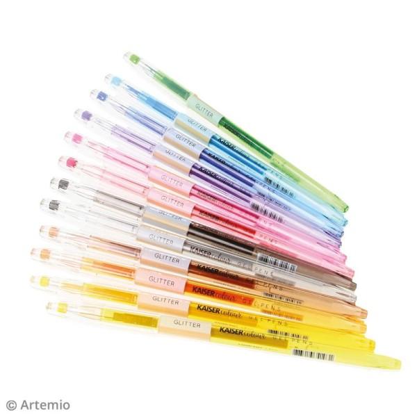 Stylos à gel Kaiser Colour - 48 stylos - Photo n°3