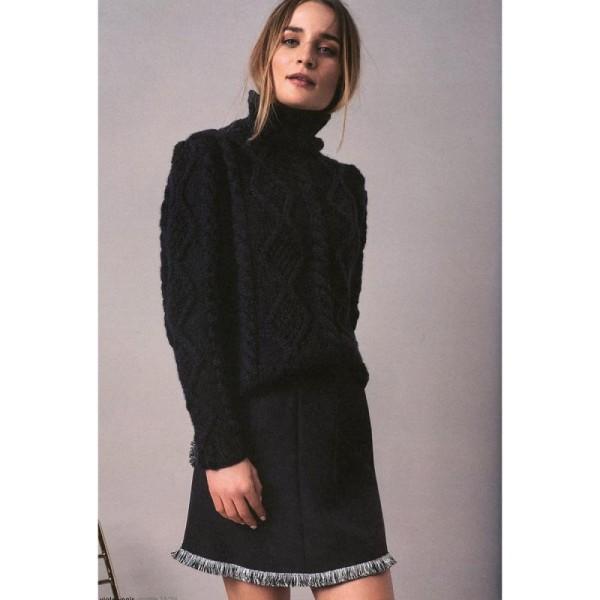 Livre magazine à tricoter Rico Design - LoveWool N°3 - Collection Automne/Hiver - 80 p - Photo n°6