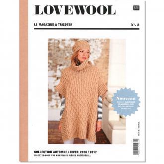 Livre magazine à tricoter Rico Design - LoveWool N°3 - Collection Automne/Hiver - 80 p