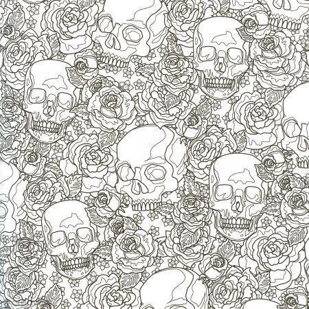 coffret de coloriage art thrapie ttes de mort colorier 1 livre et 10