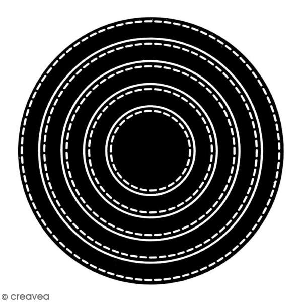 Die Florilèges Design - Cercles basiques - 5 pcs - Photo n°2