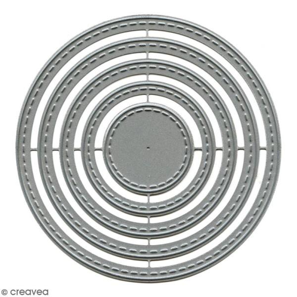Die Florilèges Design - Cercles basiques - 5 pcs - Photo n°1