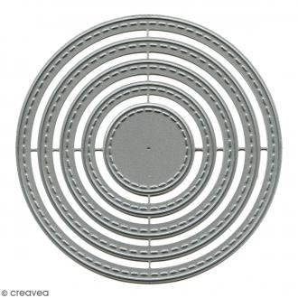 Die Florilèges Design - Cercles basiques - 5 pcs
