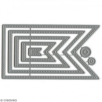 Die Florilèges Design - Fanions basiques - 7 pcs