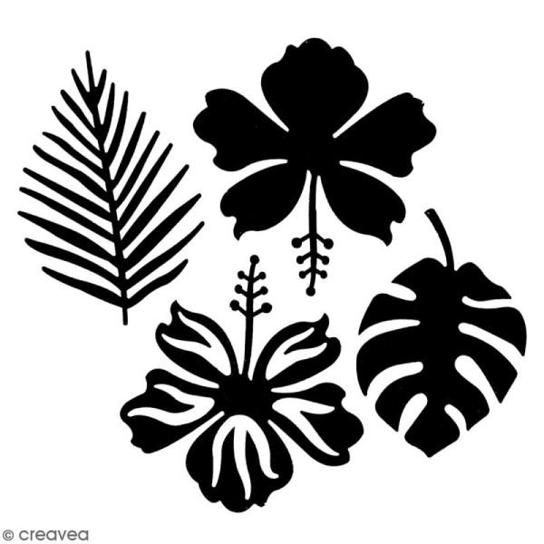 Die Florilèges Design - Sous les tropiques - 4 pcs - Photo n°2