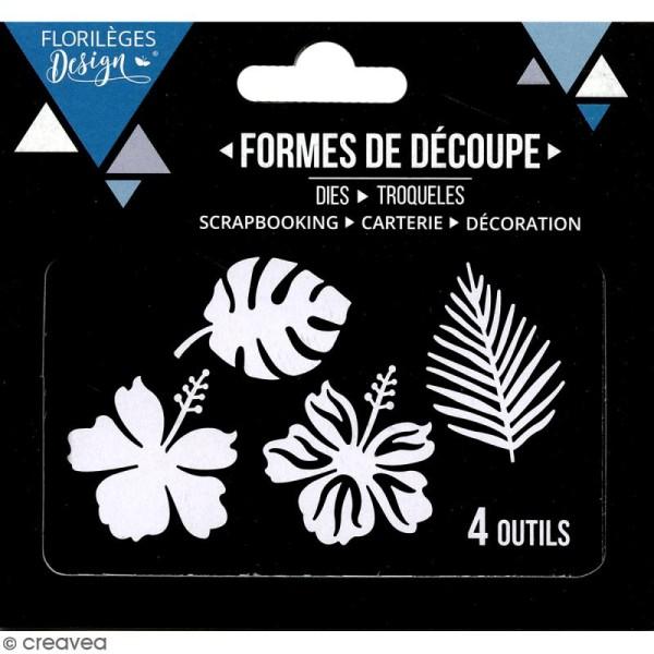 Die Florilèges Design - Sous les tropiques - 4 pcs - Photo n°3