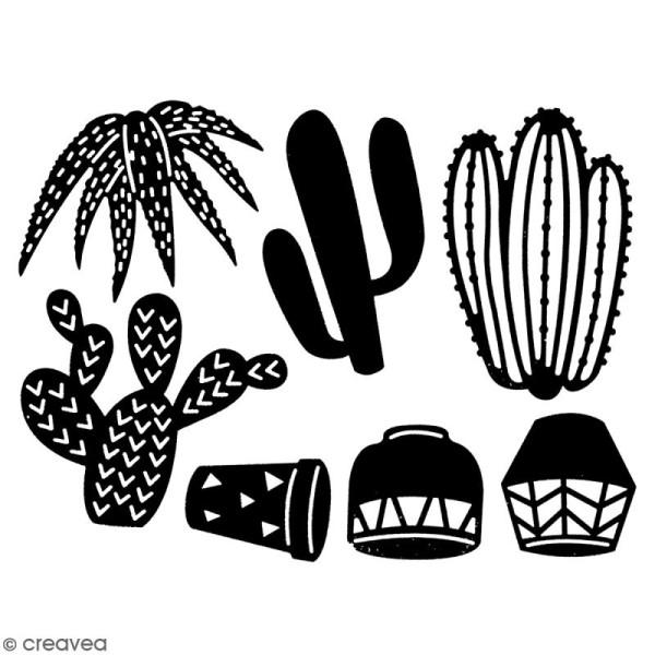 Die Florilèges Design - Quelques cactus - 7 pcs - Photo n°2