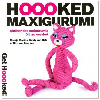 Livre crochet Hoooked Maxigurumi