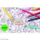 Tissus à colorier - 50 x 140 cm - Photo n°2