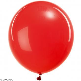 Ballons de baudruche Rico Design YEY - Uni Rouge - 30 cm - 12 pcs