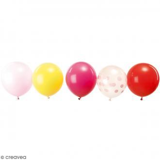 Ballons de baudruche Rico Design YEY - Mix Candy - 30 cm - 12 pcs
