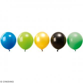 Ballons de baudruche imprimés Rico Design YEY - Pirate - 30 cm - 12 pcs