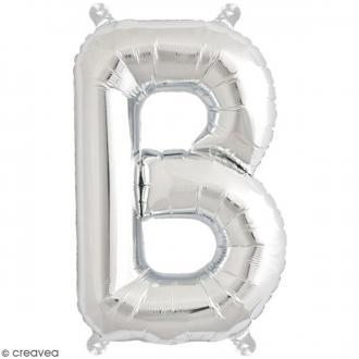 Ballon Aluminium - Lettre B - Argenté - 1 pce