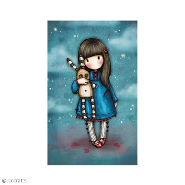 Mini tampon cling Gorjuss - N°30 - Hush Little Bunny - Photo n°2