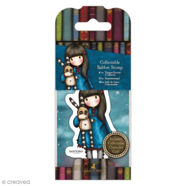 Mini tampon cling Gorjuss - N°30 - Hush Little Bunny - Photo n°1