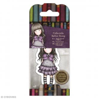 Mini tampon cling Gorjuss - N°32 - Little Violet