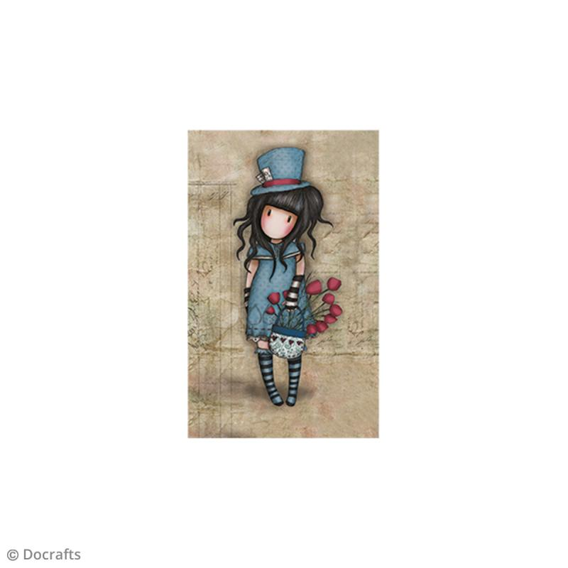 Mini tampon cling Gorjuss - N°29 - The Hatter - Photo n°2