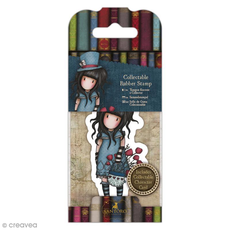 Mini tampon cling Gorjuss - N°29 - The Hatter - Photo n°1