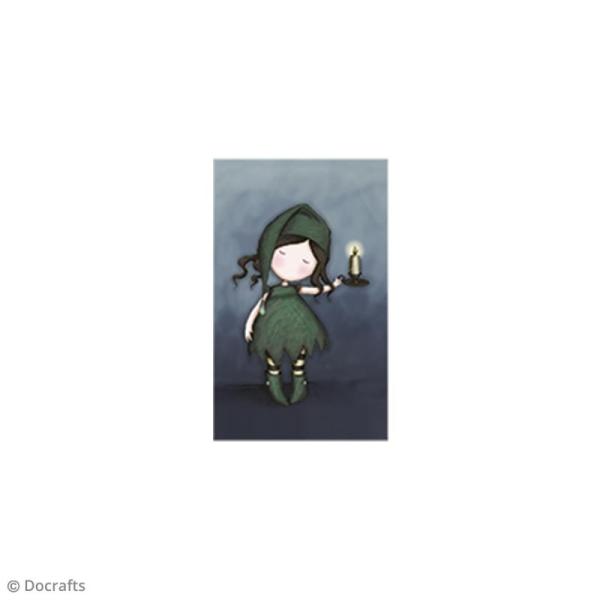 Mini tampon cling Gorjuss - N°34 - Nightlight - Photo n°2