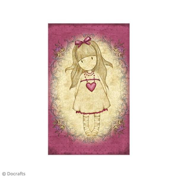 Mini tampon cling Gorjuss - N°24 - Heartfelt - Photo n°2