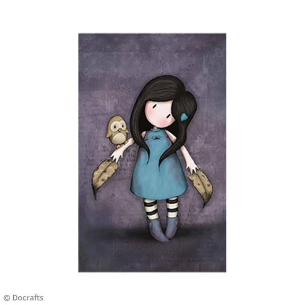 Mini tampon cling Gorjuss - N°40 - The Owl - Photo n°2