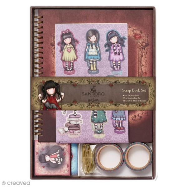 Kit scrapbooking Gorjuss Santoro - 21 pcs - Photo n°1