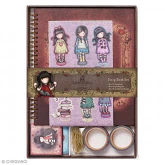 Kit scrapbooking Gorjuss Santoro - 21 pcs