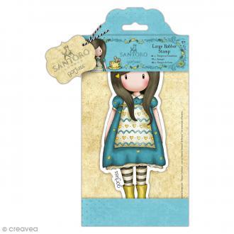Grand tampon cling Gorjuss - The Little Friend