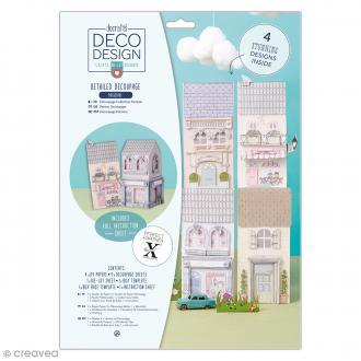 Kit de découpage A4 Deco Design - Parisienne