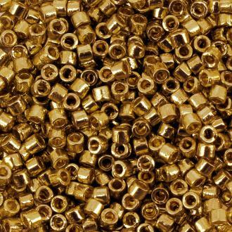 Perles Miyuki Delica 11/0 - DB0410 - Galvanised Yellow Gold Dyed - 5g