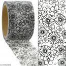 Masking tape Petites fleurs à colorier - 30 mm x 5 m - Photo n°2