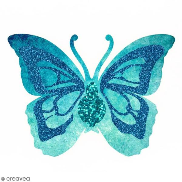 Papillon en bois à décorer - 34 x 25,5 cm - Photo n°2