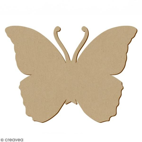 Papillon en bois à décorer - 34 x 25,5 cm - Photo n°1