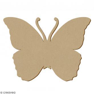 Papillon en bois à décorer - 34 x 25,5 cm